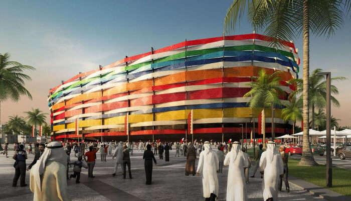 Al-Gharafa Stadium KB6592 FIFA