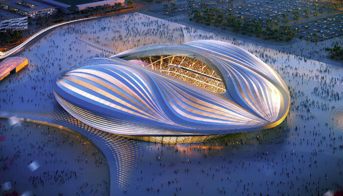 Al Wakrah Stadium KB6592 FIFA
