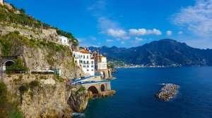 Atrani Beach in Italy