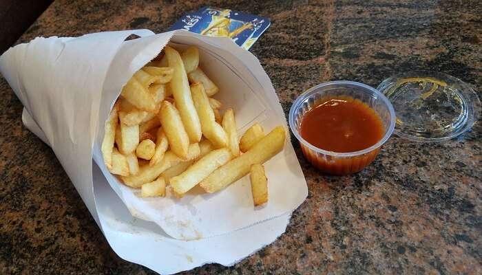 Belgian Fries View