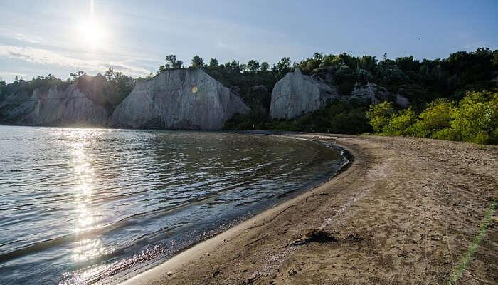 Bluffer's Park Beach