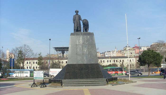 Cezayirli Gazi Hasan Paşa Monument