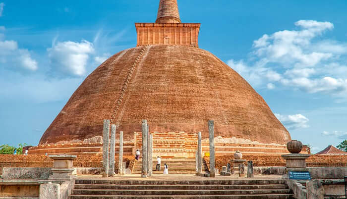 Check Out The World's Tallest Stupa