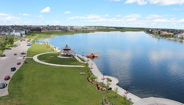 Chestermere Lake VIew