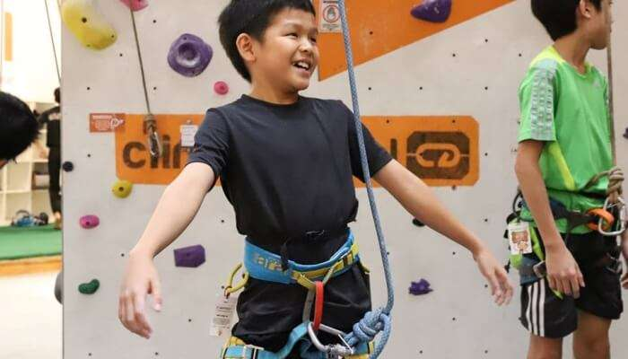 Climb Central In Singapore