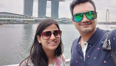 Cover - Basant's Singapore Trip