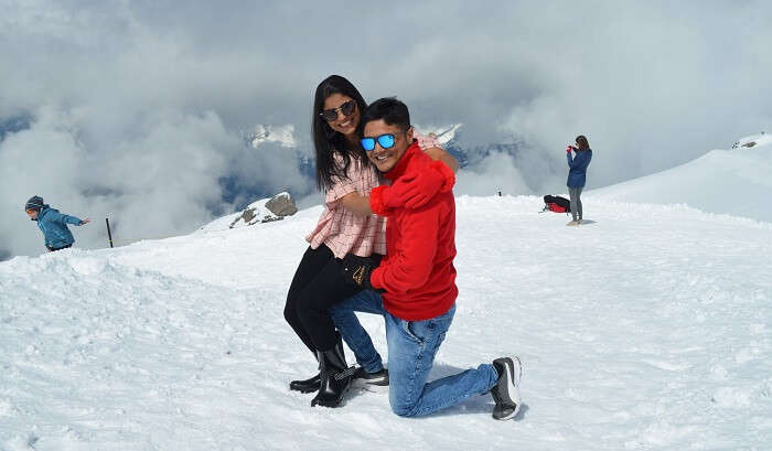 visited Mount Titlis Glacier