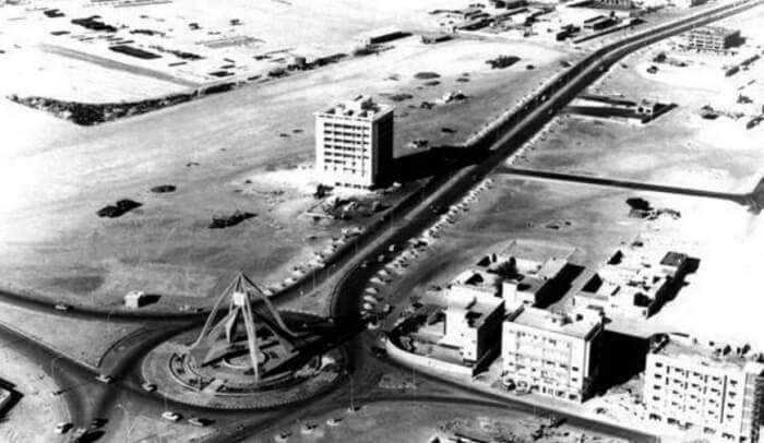 Deira Clock Tower in 1969