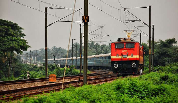 Delhi To Chennai Trains Route