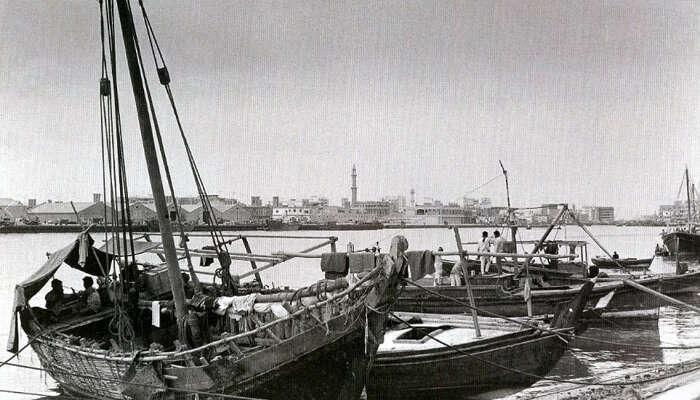 Dubai Dhow Cruise In 1950