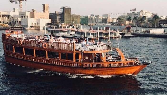 Dubai Dhow Cruise now