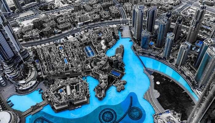 Dubai Marina now
