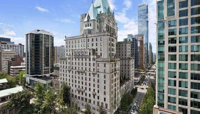 Fairmont Hotel Vancouver View