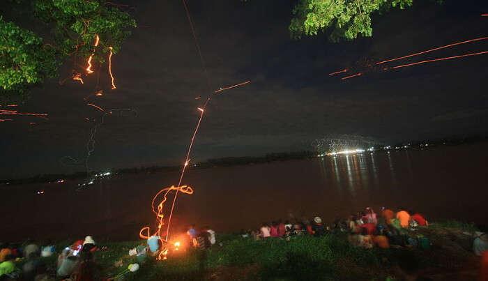 Fireballs In Mekong