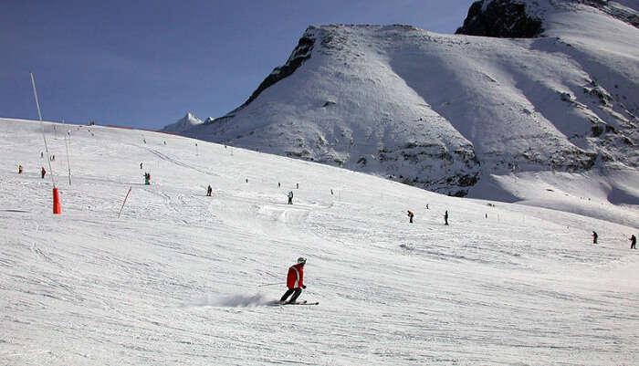 _Grindelwald - Skiing