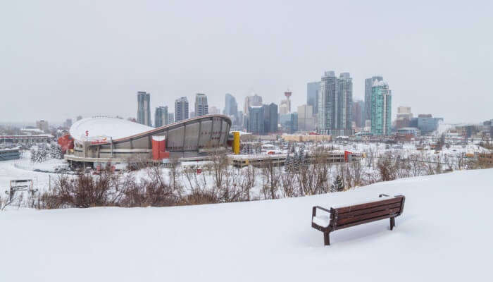 Head To Crescent Heights For White Panoramas Of Calgary