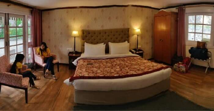 spacious rooms in guest house