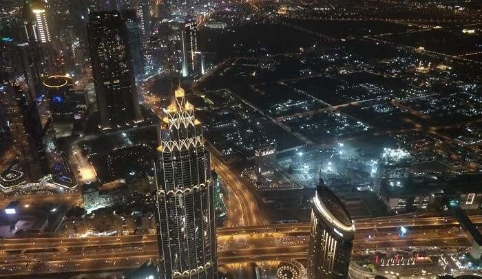 overall city night view