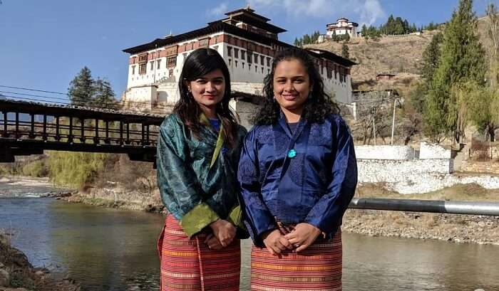 meet with local people of Bhutan