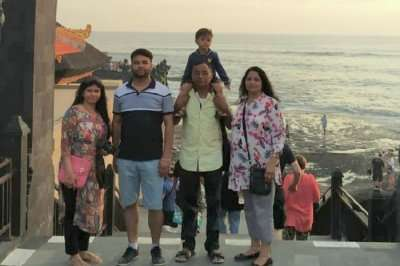 cover - Arun Bali trip with family