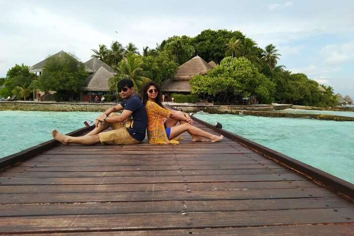 cover - Abhijit Maldives Trip