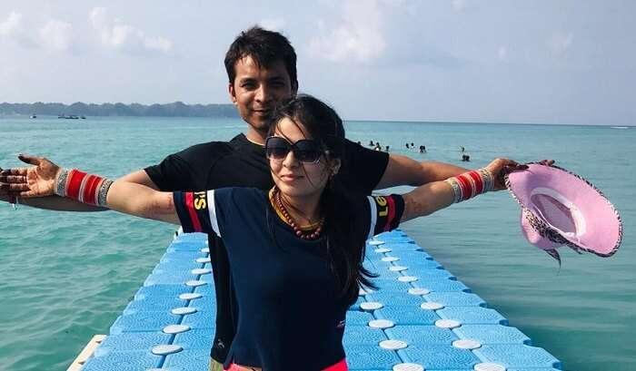 enjoy with my wife