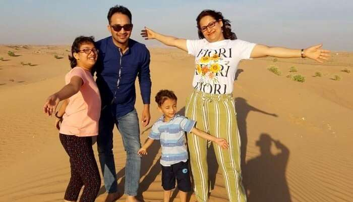 Fun trip to Dubai with kids