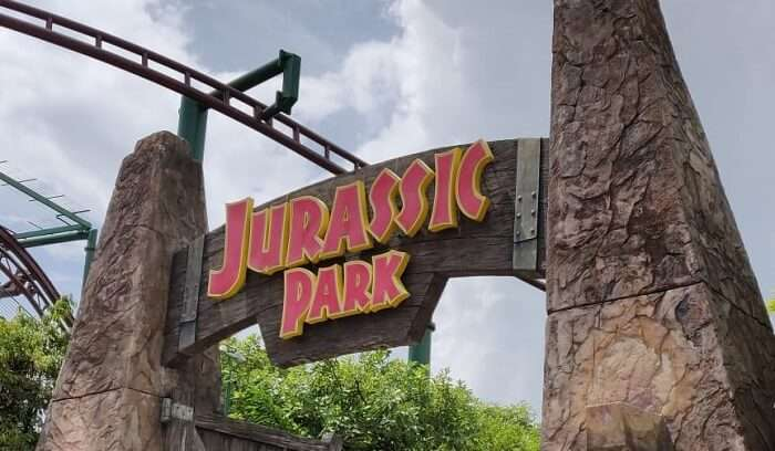 Jurasic Park in Singapore