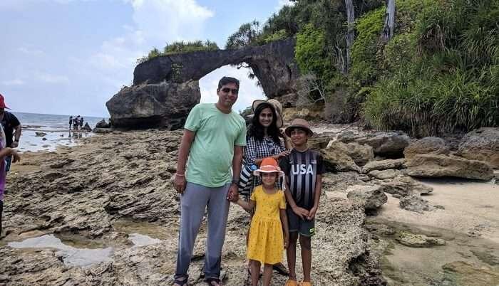 Family Photo at Havelock Island
