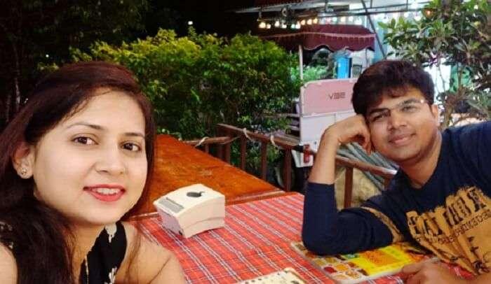 Breakfast with my partner