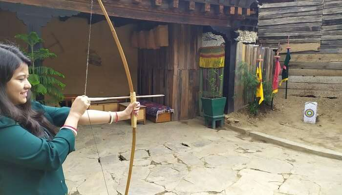 experience bow and arrow game