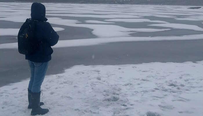 wonder to see the lake