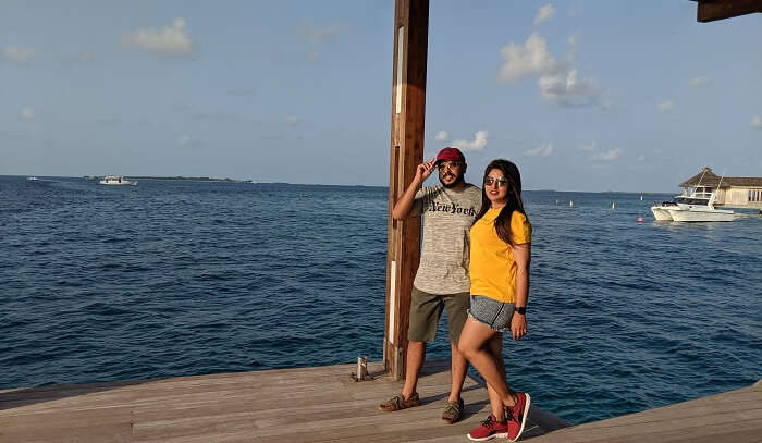 a lavish vacation to maldives