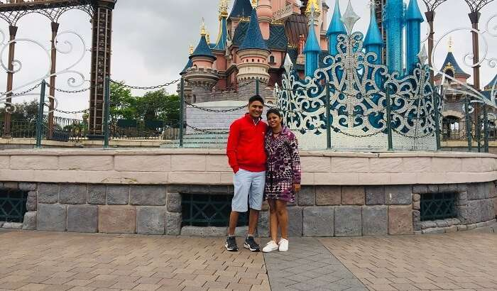 had a thrilling experience in the Disneyland