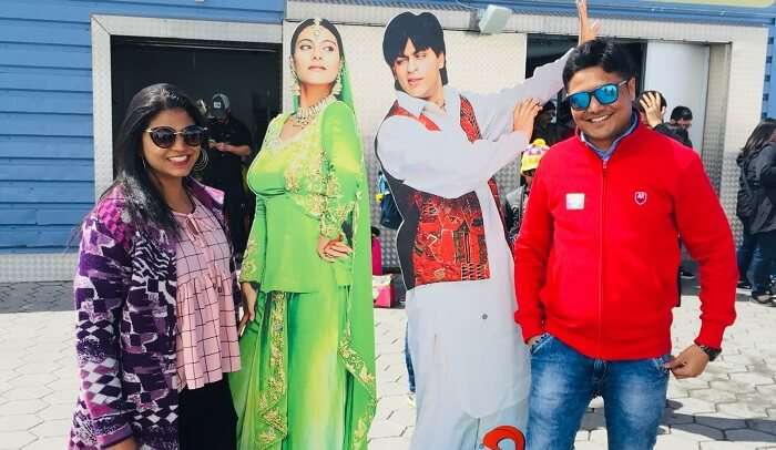 get the touch of bollywood on our vacation