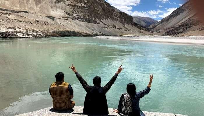 mankind: Pangong Lake