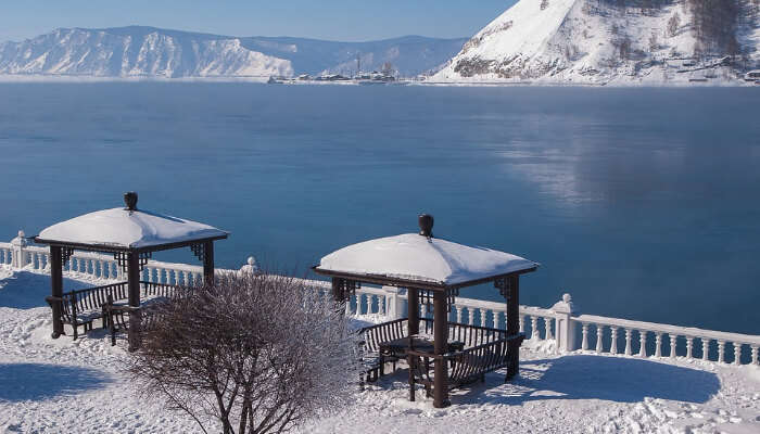 Picnic Spot Near Lake Baikal