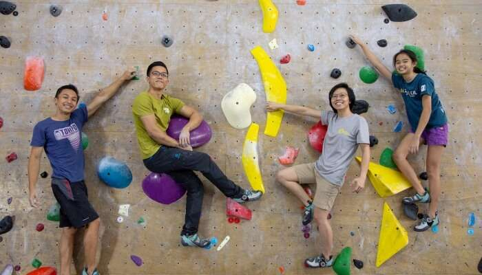 Onsight Climbing In Singapore