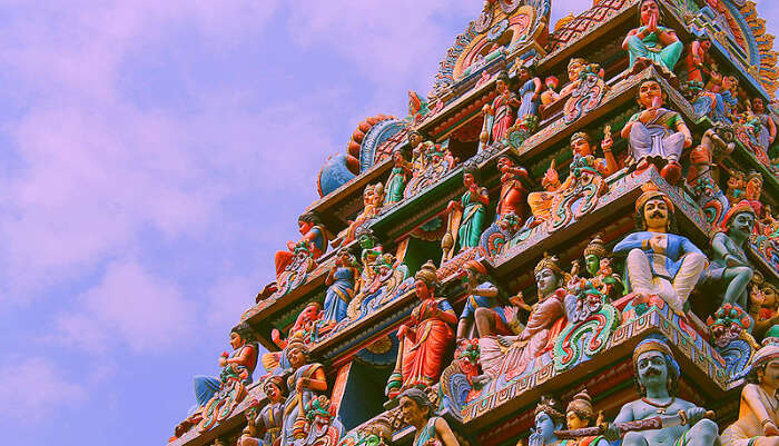 Pray At Sri Mariamman Temple