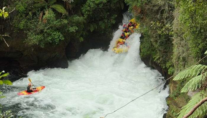Rafting Down The Sita River