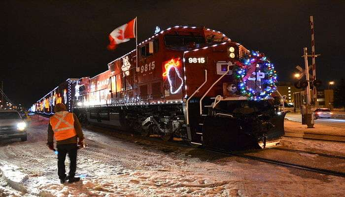 Canada's Lit Holiday Train