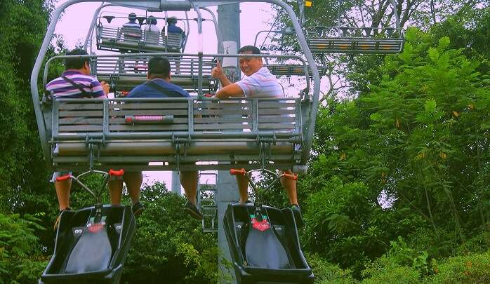 Sentosa Skyline Luge And Skyride