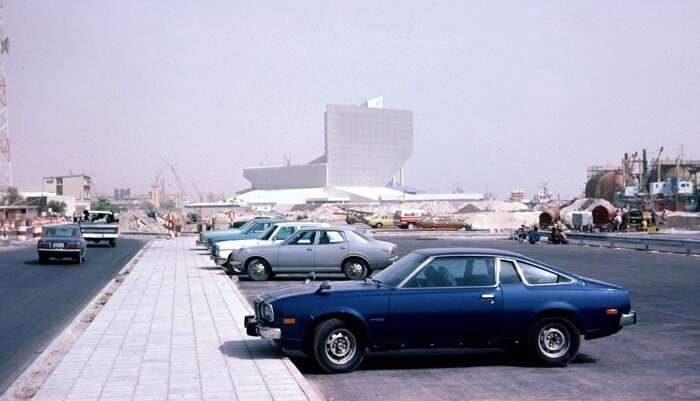 Sheraton Dubai Creek Hotel & Towers in 1978