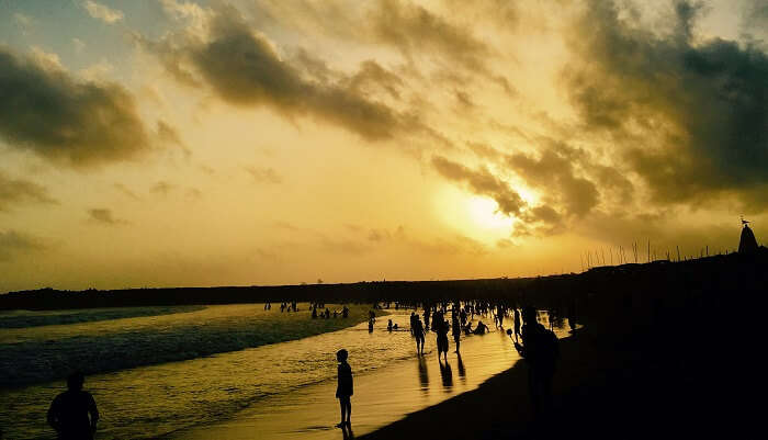 Somnath Beach in Somnath