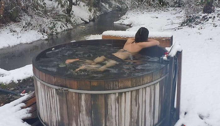 St. Agnes Well Hot Springs or Skookumchuck Hot Springs