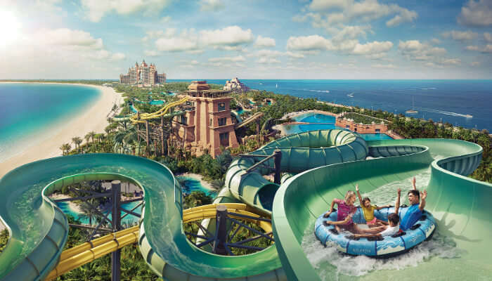 Aquaventure Waterpark in Dubai