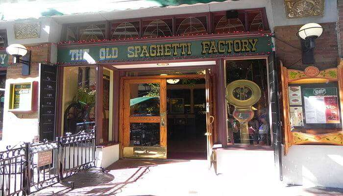 The Old Spaghetti Factory In Vancouver