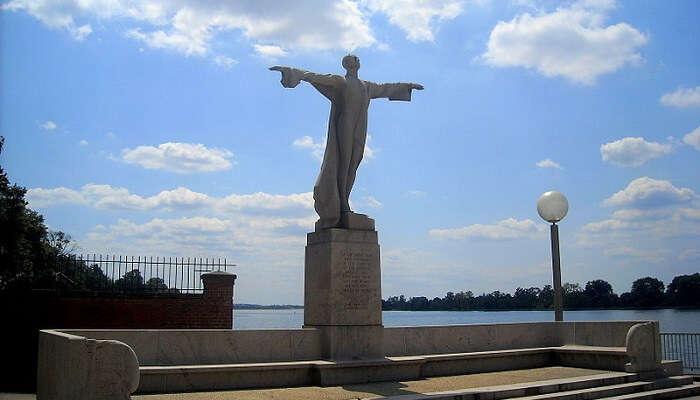 Titanic Memorial in washington dc