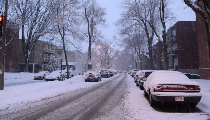 Weather Of Montreal In Winter