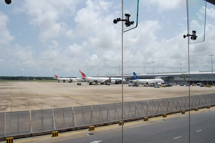Airport in Colombo